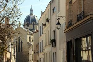 Rue dans Paris 13eme arrondissement Butte aux Cailles