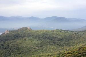 Vue Belvédère Campomoro en Corse