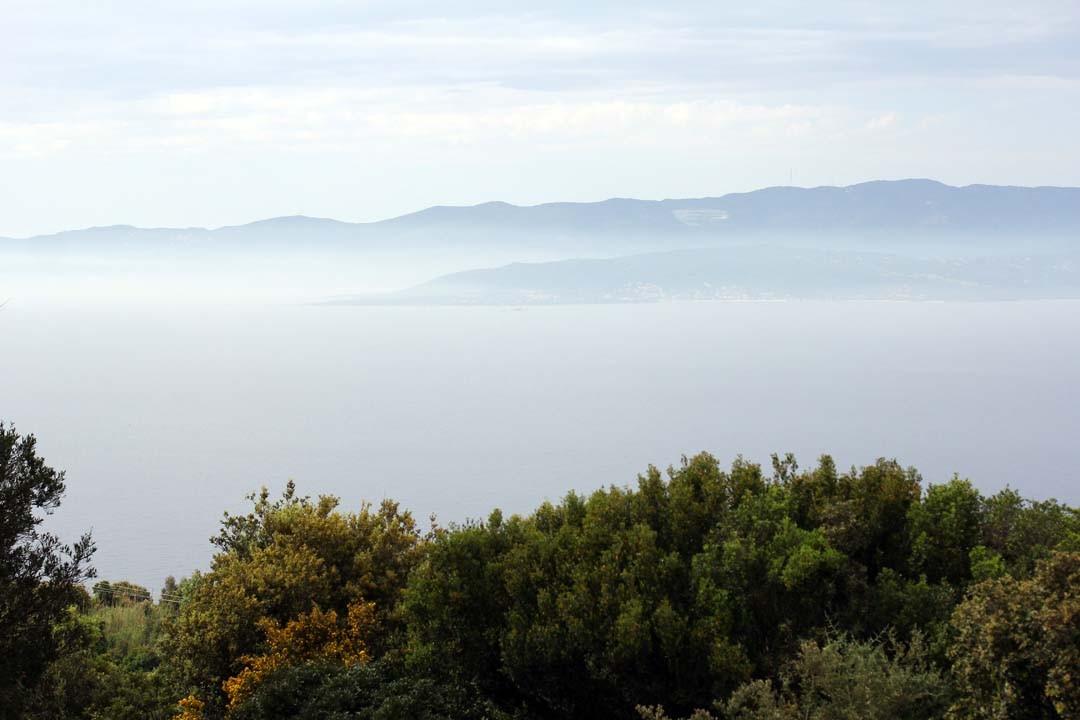 Vue de Belvédère Campomoro en Corse