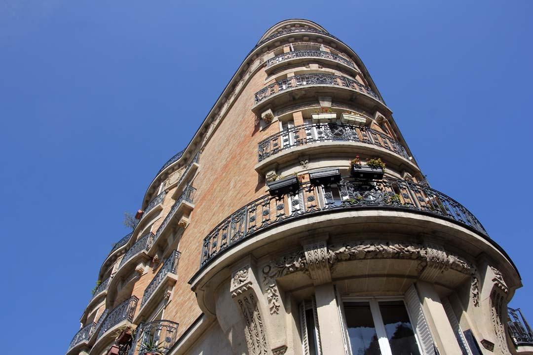 Immeuble art déco dans Paris 13eme