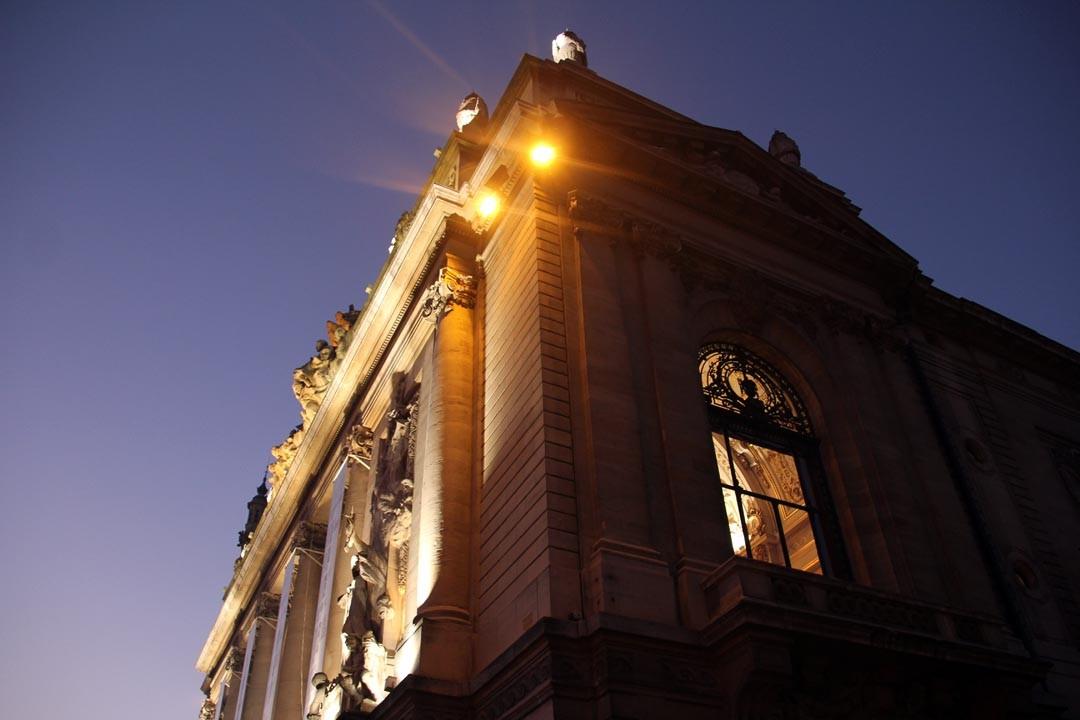 Opéra de Lille nuit