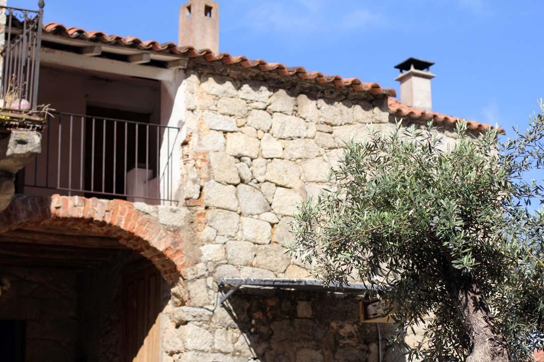 Maison en pierre corse