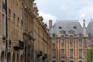 Architecture Place des Vosges Paris
