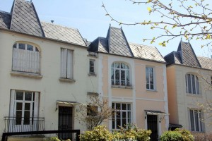 Maisons de la Rue Dieulafoy à Paris 13eme