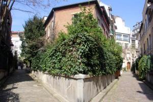 Square des Peupliers à Paris 13eme arrondissement