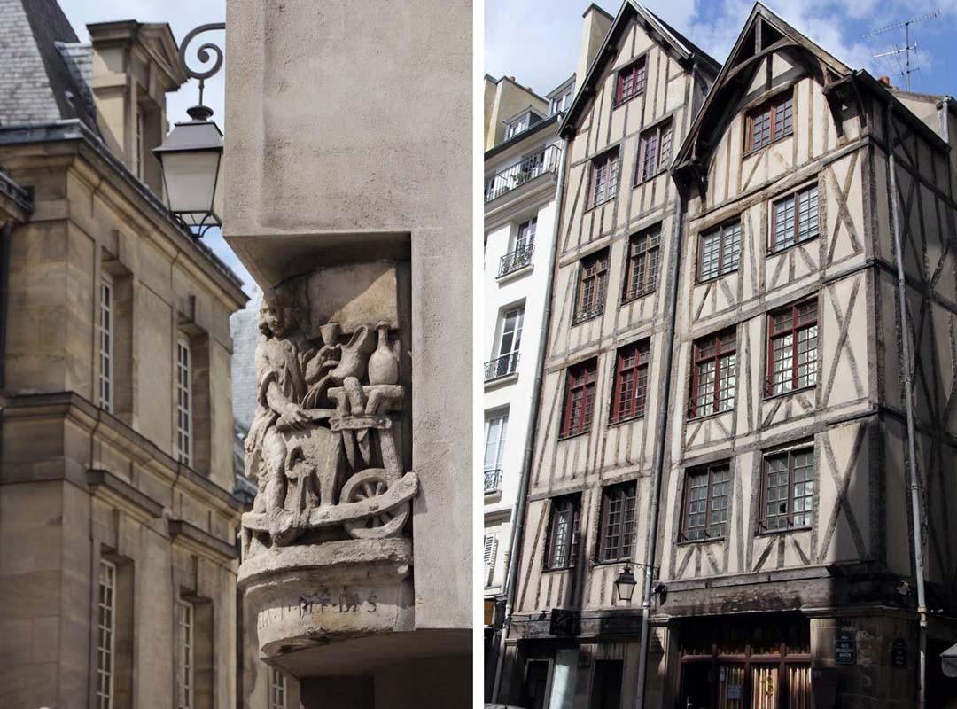 vieille maison marais Paris
