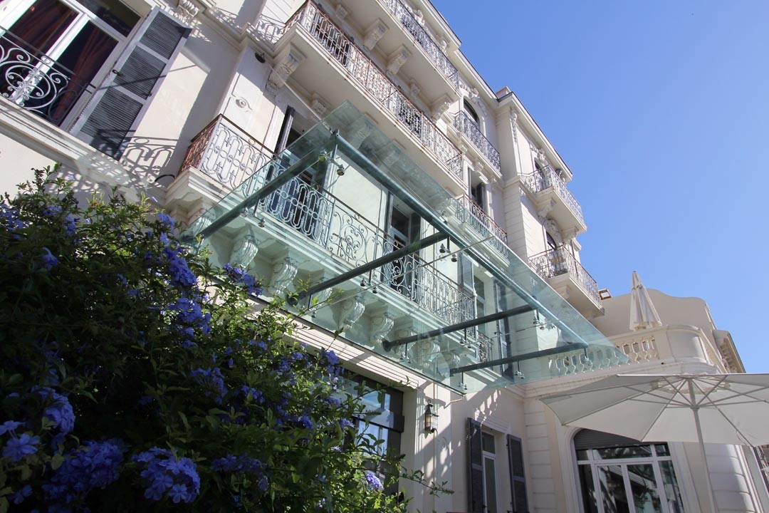 façade Villa Garbo à Cannes