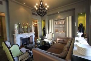 Villa Garbo à Cannes salon entrée