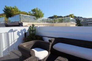 Villa Garbo à Cannes penthouse terrasse