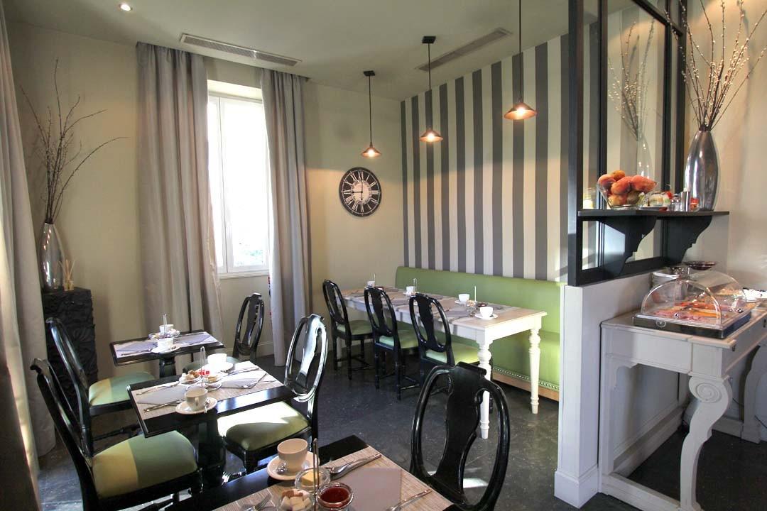 Villa Garbo à Cannes petit déjeuner