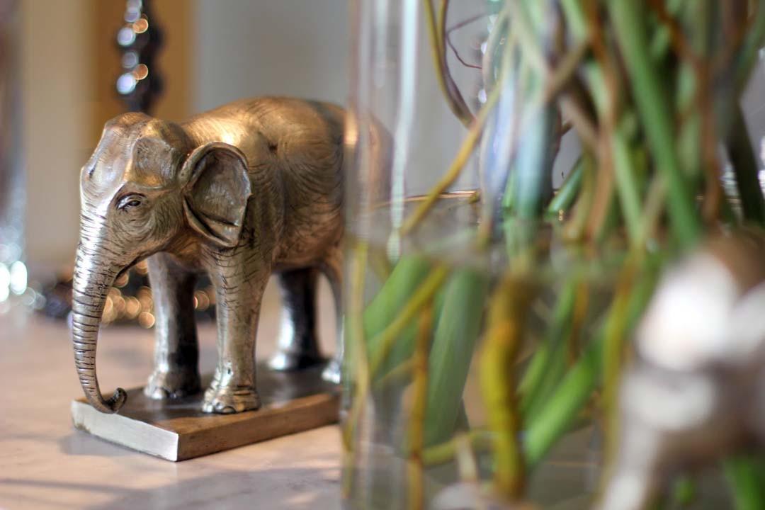 décoration asiatique zen éléphant