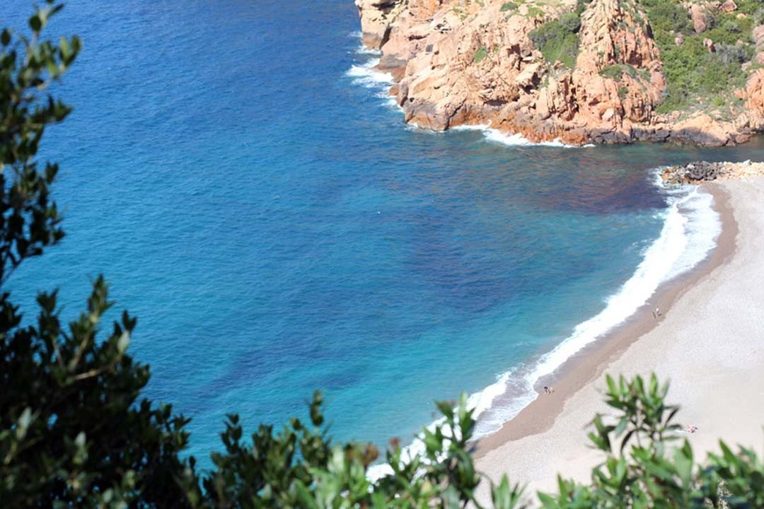 Mer turquoise Corse