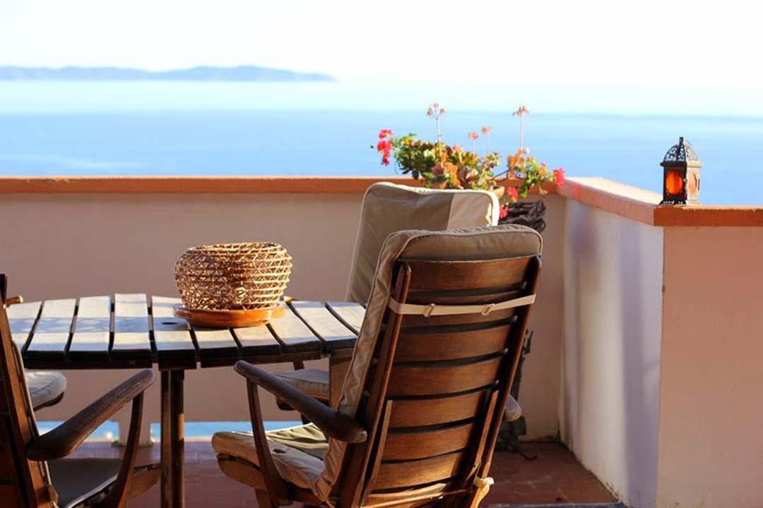 Vue sur mer Ajaccio