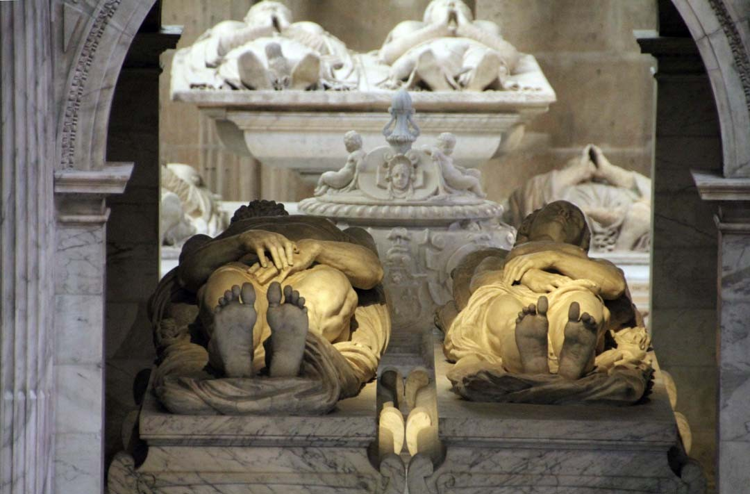 Gisants à la Basilique Saint-Denis