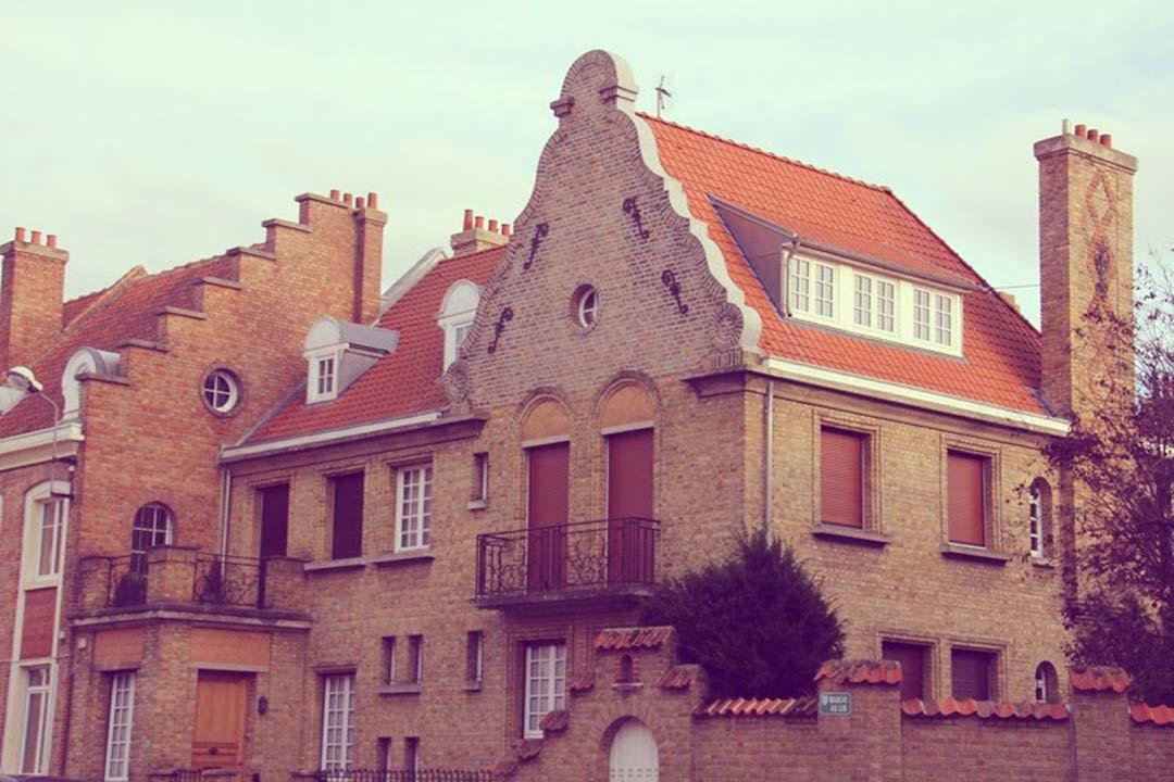 Bergues maisons