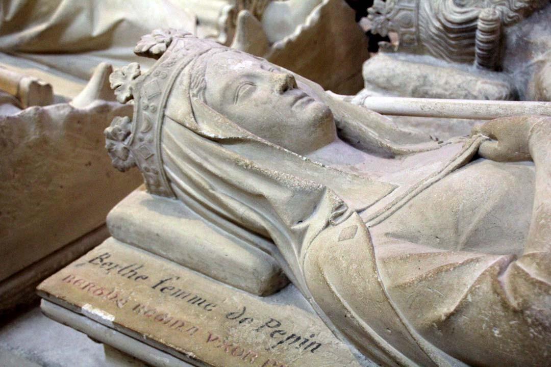 Berthe à la Basilique Saint-Denis