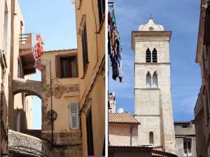Centre ville de Bonifacio Corse