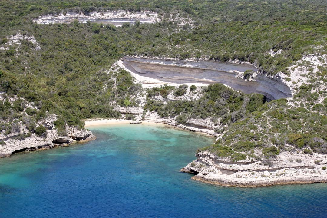 Falaises calcaire Bonifacio Corse