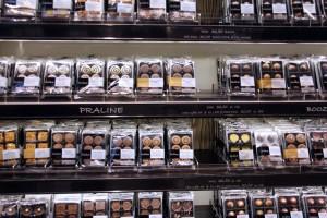 Boutique tablettes de chocolat à Copenhague
