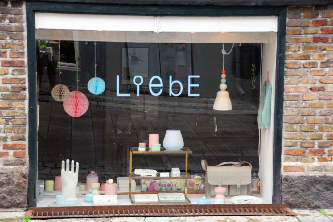 Boutique Liebe à Copenhague