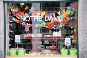 Boutique Notre Dame à Copenhague