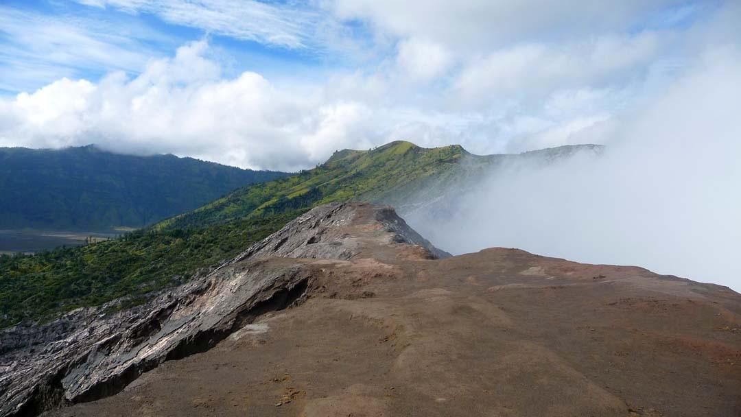 Cratère du Mont Bromo à Java, Indonésie
