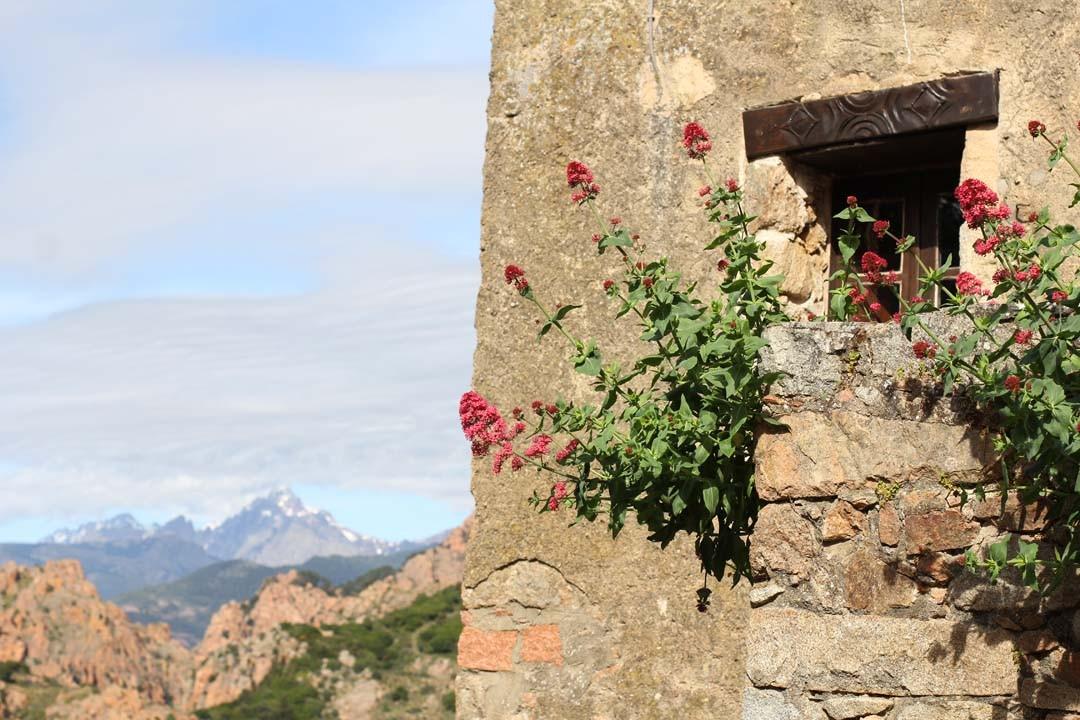 Vue maison Corse