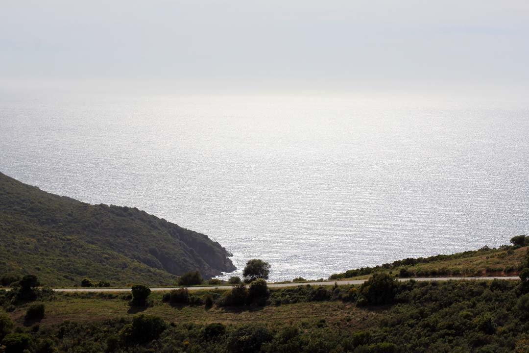 Route du Capo Rosso en Corse