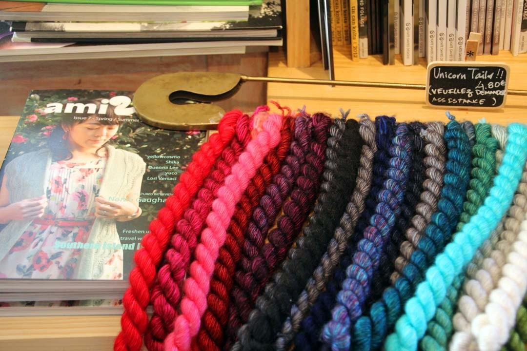 Catalogue tricot et pelotes de laine