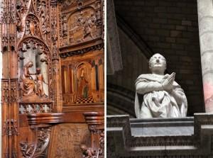 Intérieur et chaire de la Basilique Saint-Denis