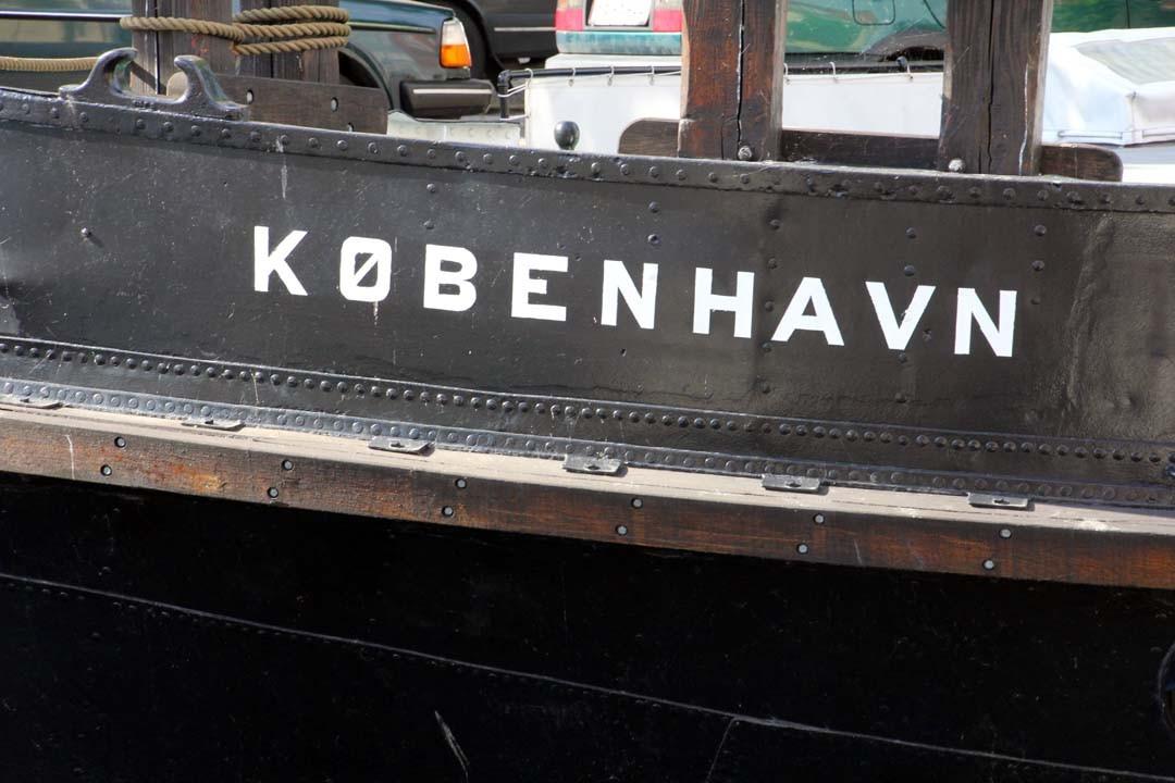 Bateau à Copenhague