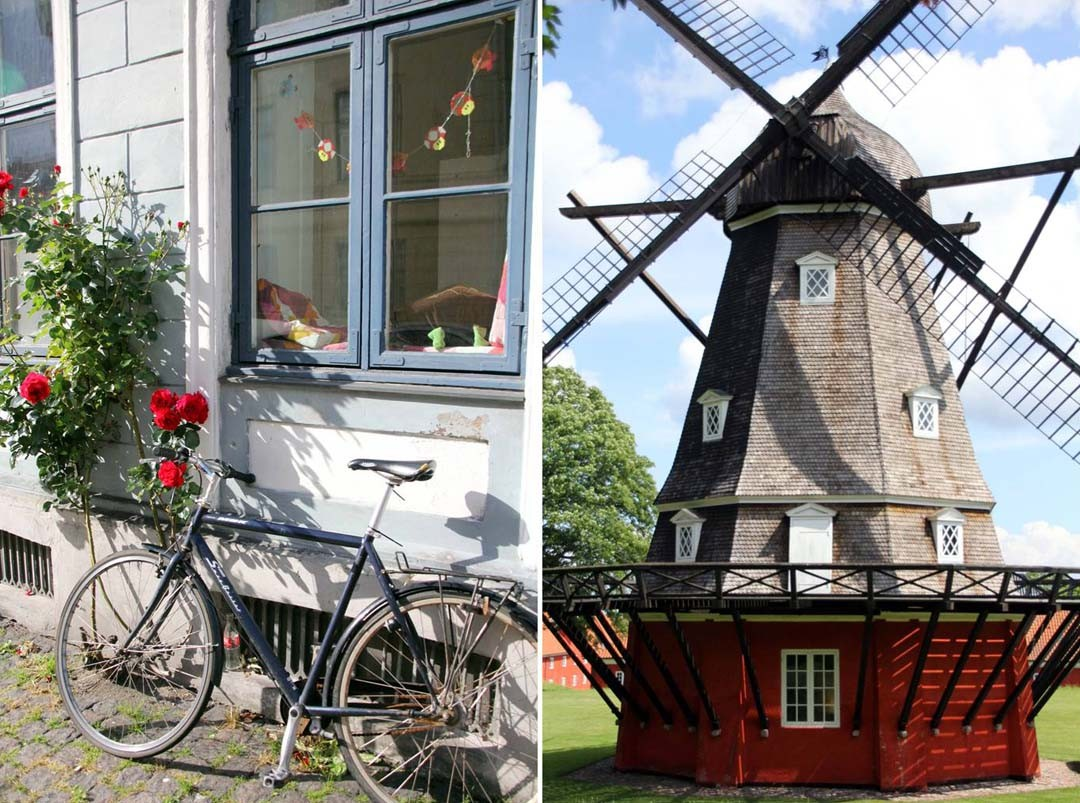 Moulin Kastellet à Copenhague
