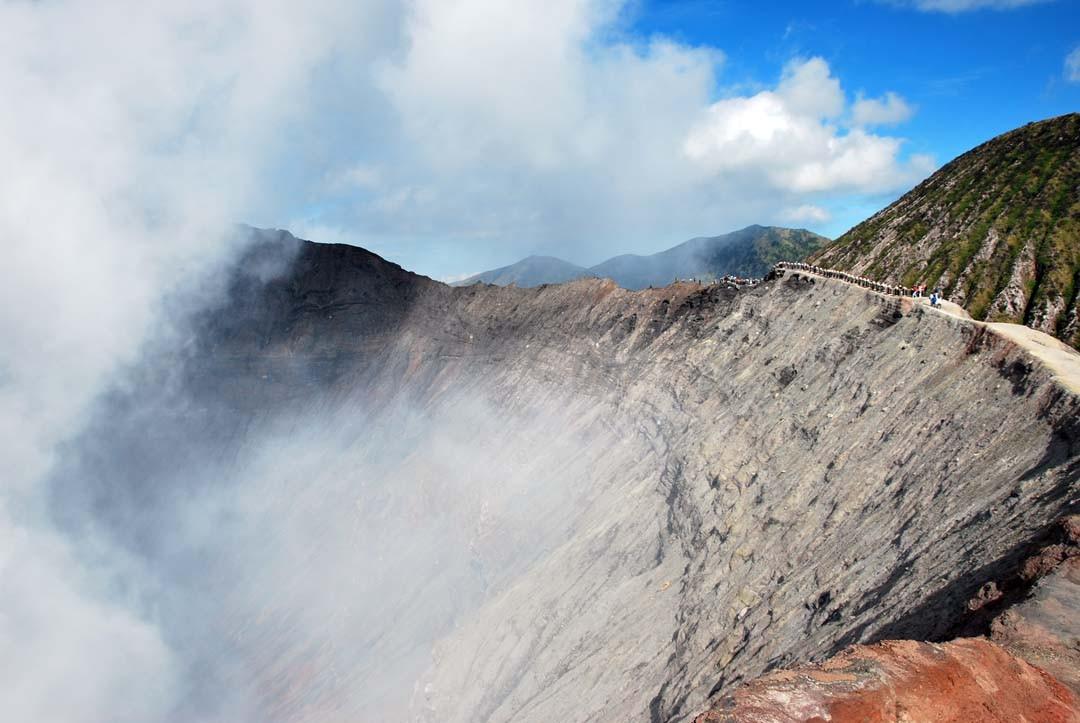 Cratère du Mont Bromo à Java en Indonésie