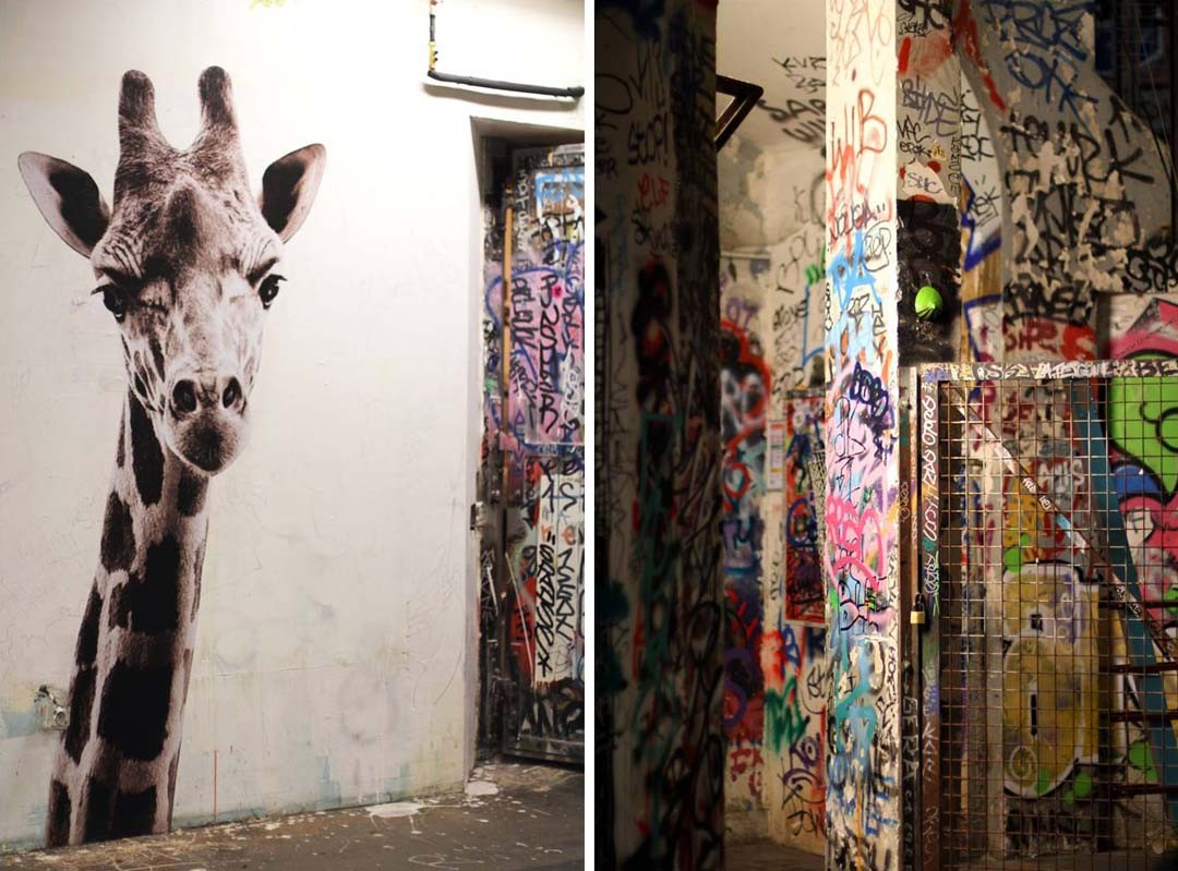 Dessin girafe tags