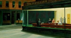 Tableau Edward Hopper Nighthawks