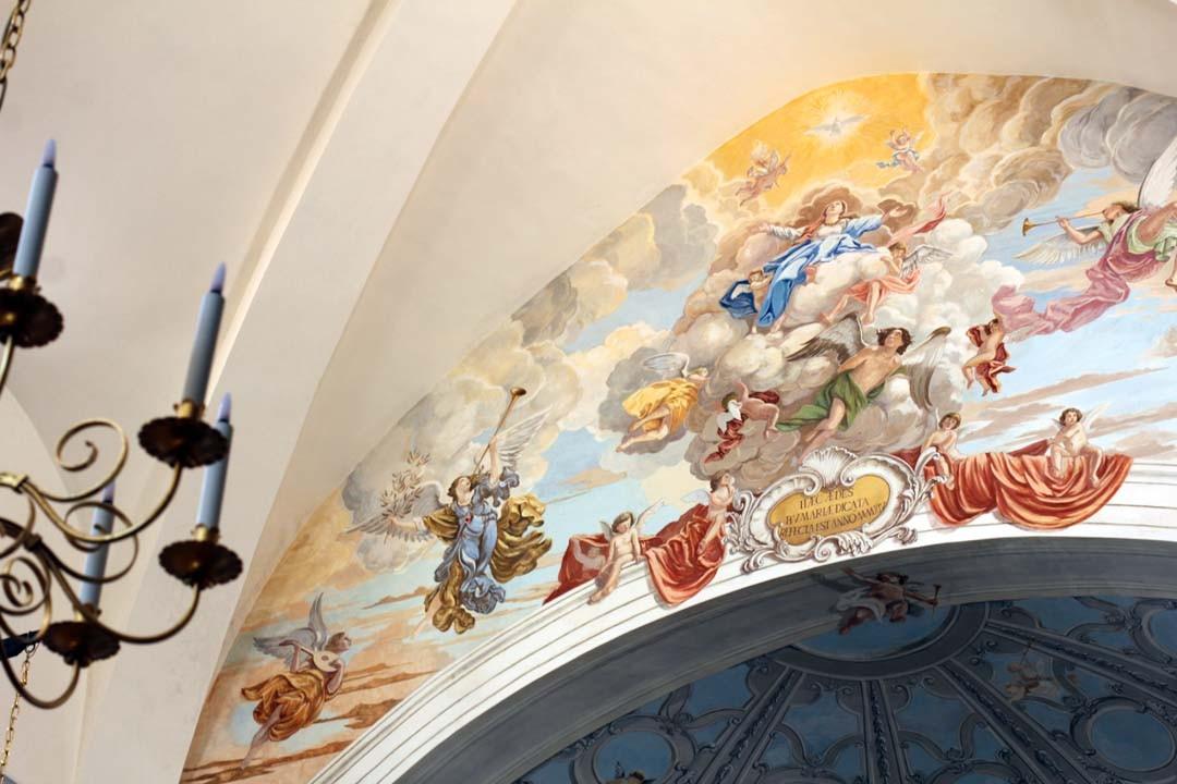 Peinture Eglise Bonifacio Corse