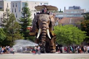 Éléphant Machines de l'Île Nantes