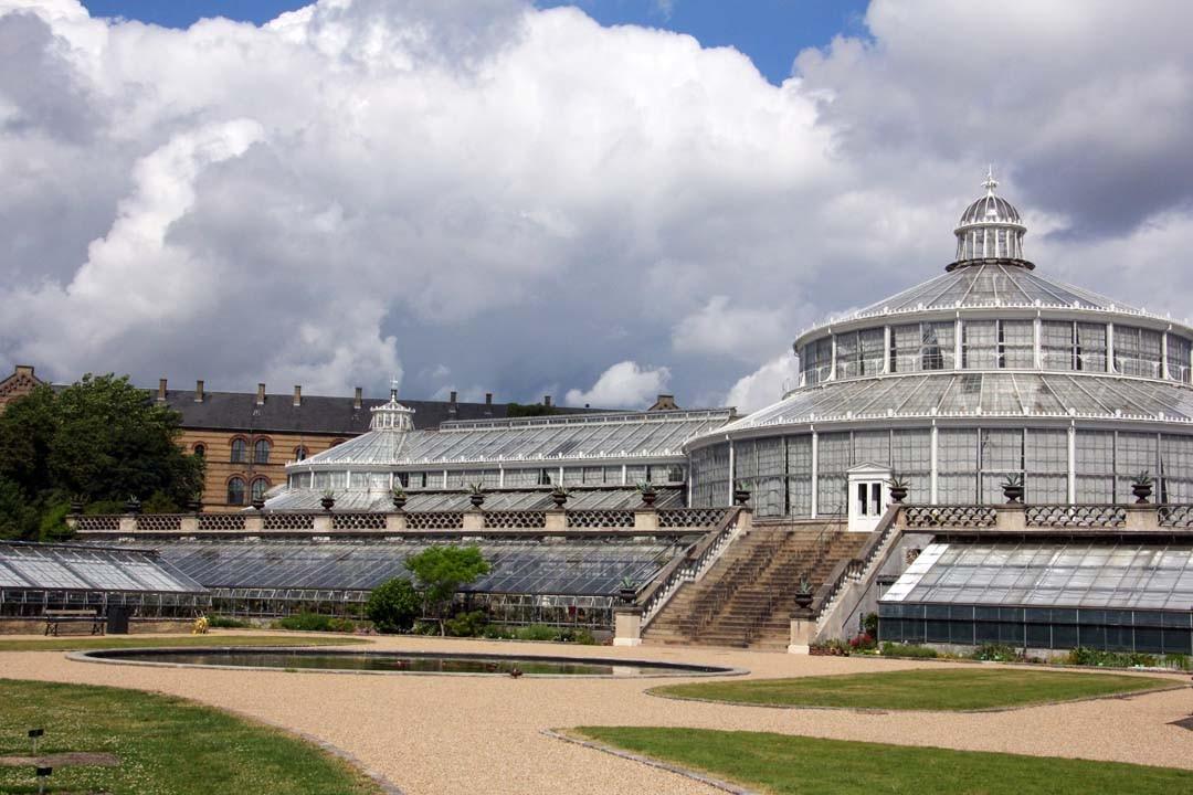 Jardin botanique et serres à Copenhague
