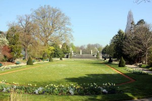 Jardin à la française Serres d'Auteuil Paris