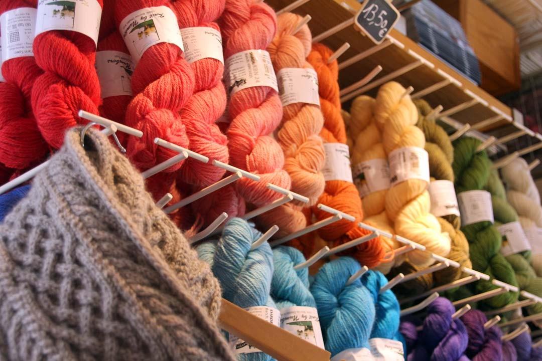 Echeveaux de laine
