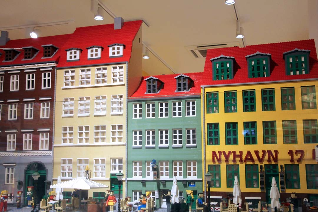 Boutique Lego à Copenhague