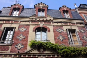 Maison briques Honfleur Normandie