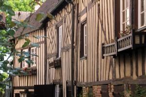 Maison typique colombage Normandie