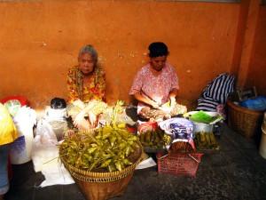 Marché en Indonésie