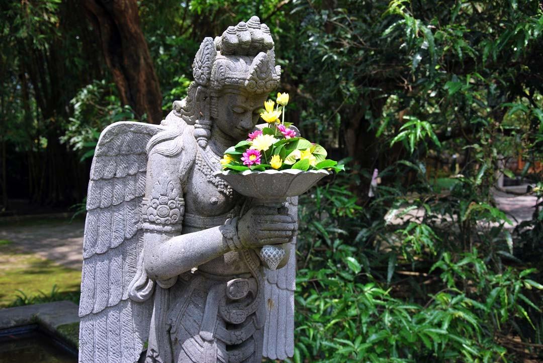 Monastère Mendut, Java, Indonésie