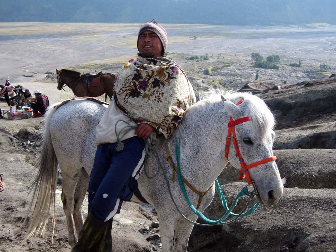 Indonésien Mont Bromo