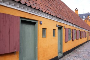 Quartier Nyboder à Copenhague