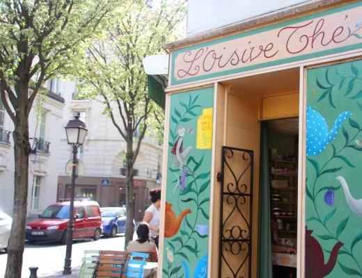 Salon de thé l'oisivethé à Paris