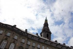 Palais Christiansborg à Copenhague