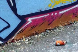 Peinture tag